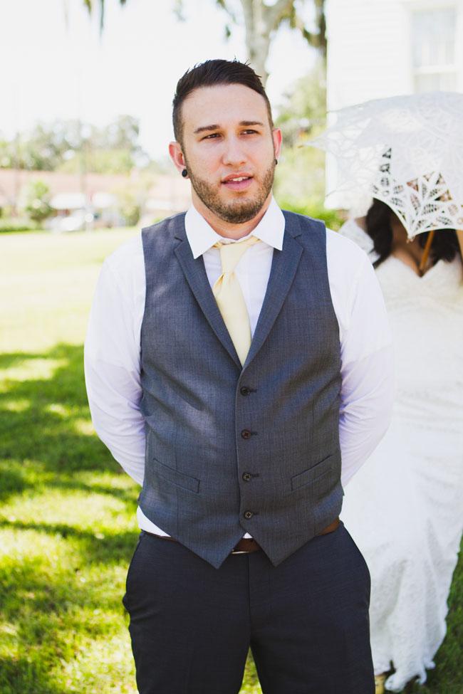 Indie Rustic Garden Wedding At Florida
