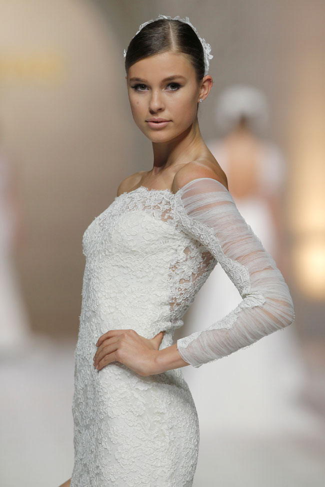 "Atelier Pronovias 2015 Wedding Dress Collection ""50 Years Dressing Dreams"" 50th Anniversary Presentation  http://storyboardwedding.com/atelier-pronovias-wedding-dress-2015-collection"