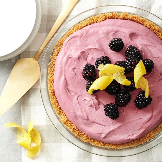 Blackberry Cream Pie