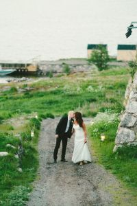Classic Chic Swedish Summer Archipelago Wedding At Dalarö Skans