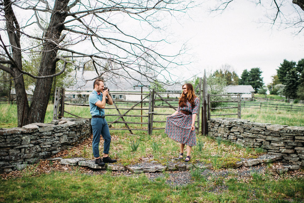 Hipster Vibed Pasture Engagement Session With An Indie Twist | Photograph by Jessica Oh Photography  http://storyboardwedding.com/hipster-pasture-engagement-session-indie/