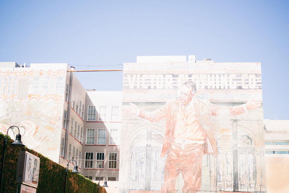 Ivy Covered Walls & LA