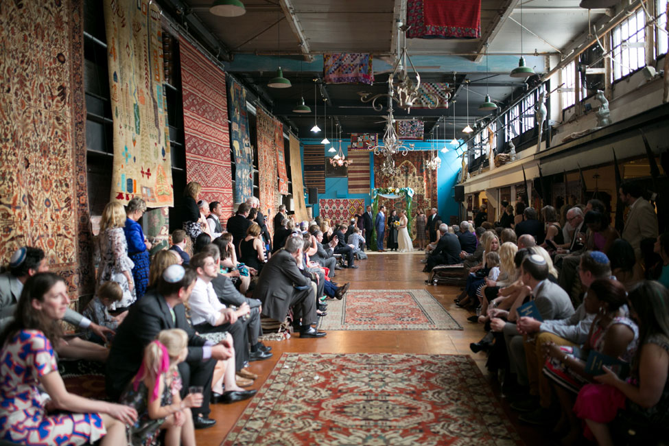 Eclectic Event Space Wedding At Philadelphia's Material Culture | Photograph by Peach Plum Pear Photo