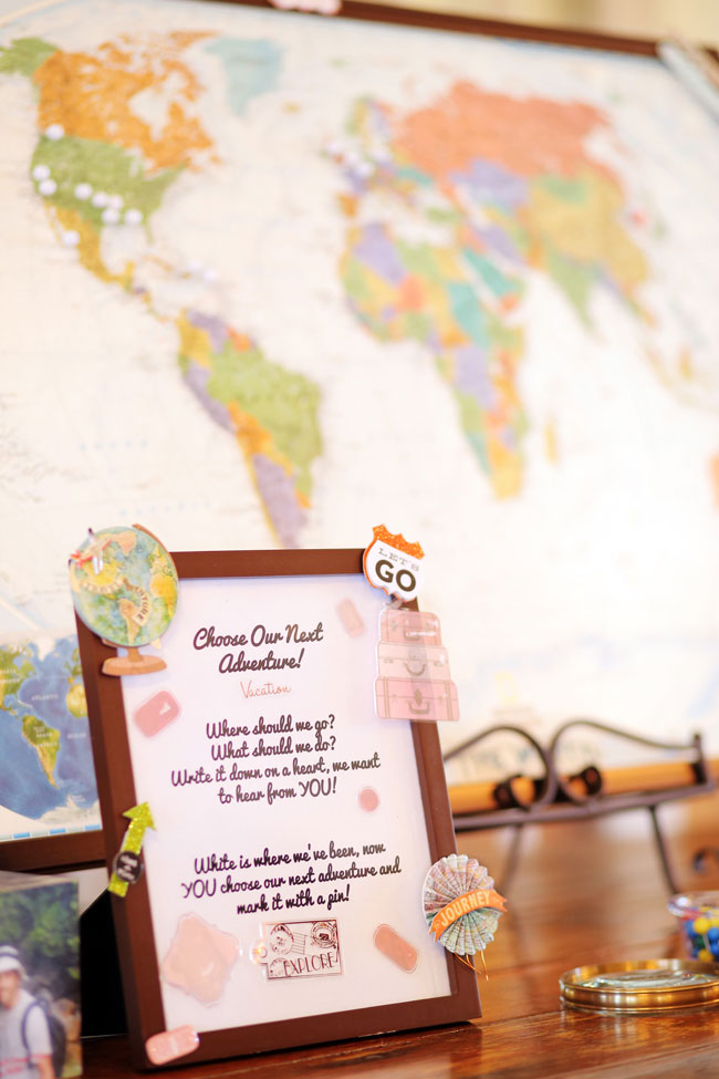 Vintage Travel Inspired Wedding At Elmwood Gardens | Photograph by Photography by Gema  http://storyboardwedding.com/vintage-travel-inspired-wedding-elmwood-gardens/