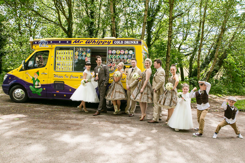 British 60s Rock Wedding Infused With 70