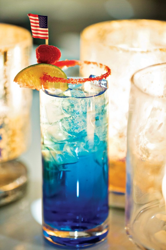 Blue Harvest Cocktail