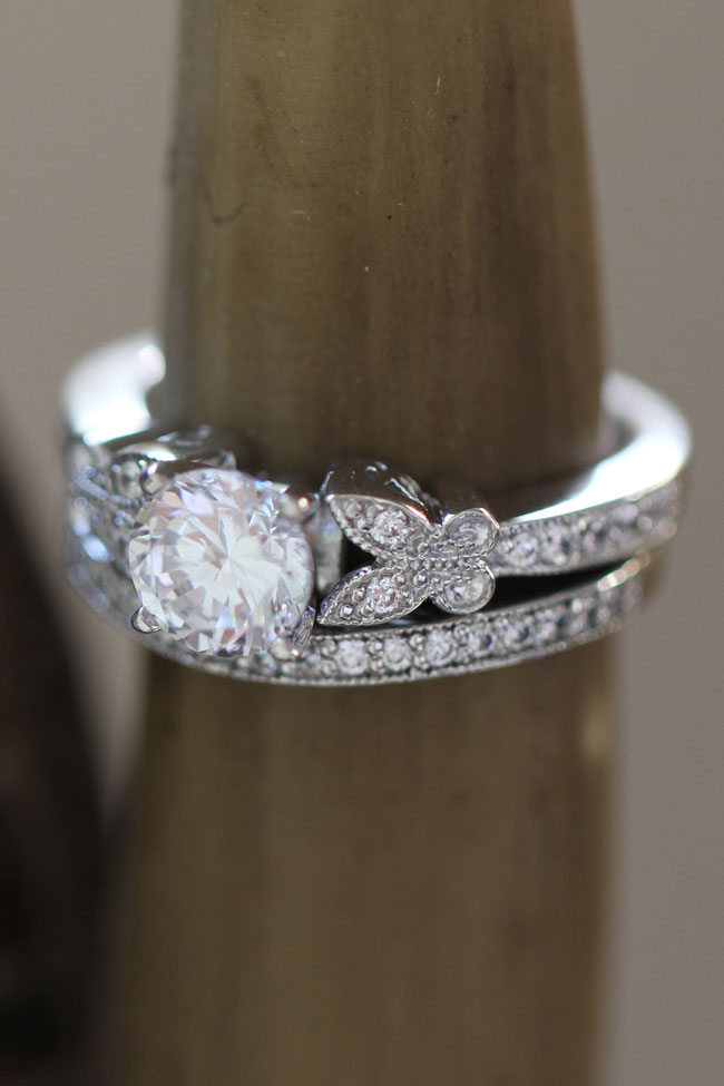 love 3 crave worthy pave diamond engagement rings that will stun - Butterfly Wedding Ring
