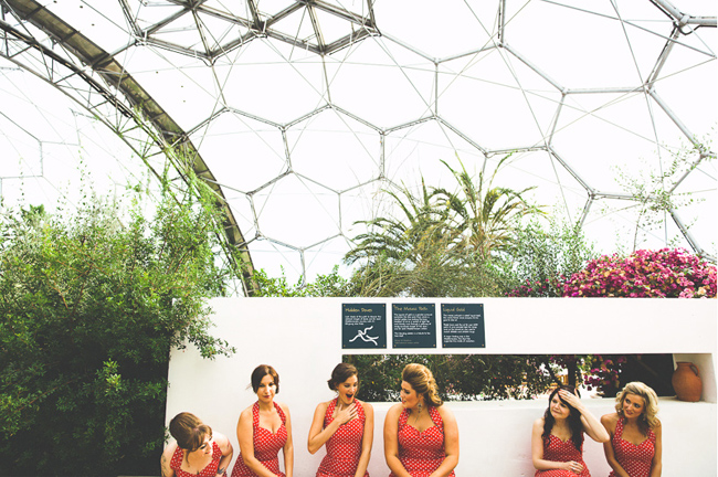 Glastonbury Eden Project Wedding Bespoke Bride Alan Law Photography 3