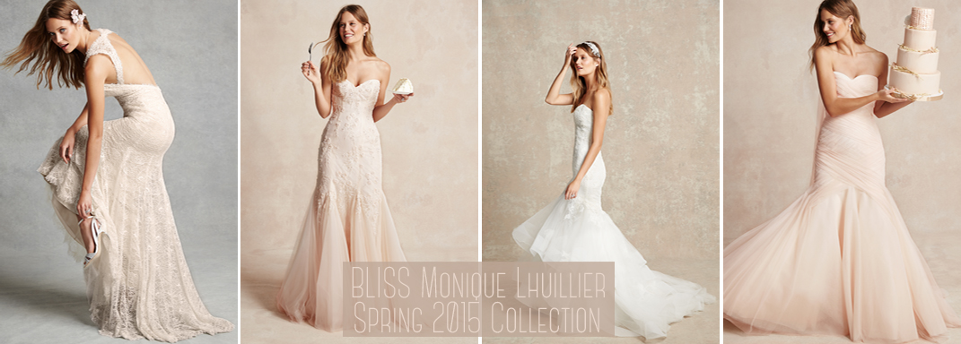 BLISS Monique Lhuillier Spring 2015 Collection storyboardwedding.com/bliss-monique-lhuillier-spring-2015-collection/