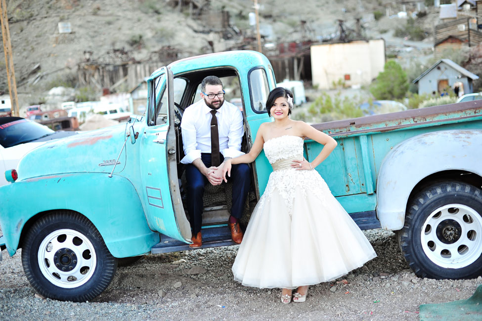 Wonderfully Cool Nelson Nevada Ghost Town Elopement Wedding | Photograph by Jamie Y Photography  http://storyboardwedding.com/nelson-nevada-ghost-town-wedding/