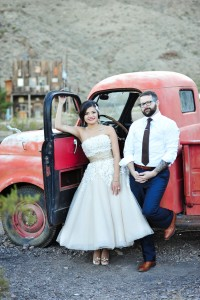 Wonderfully Cool Nelson Nevada Ghost Town Wedding