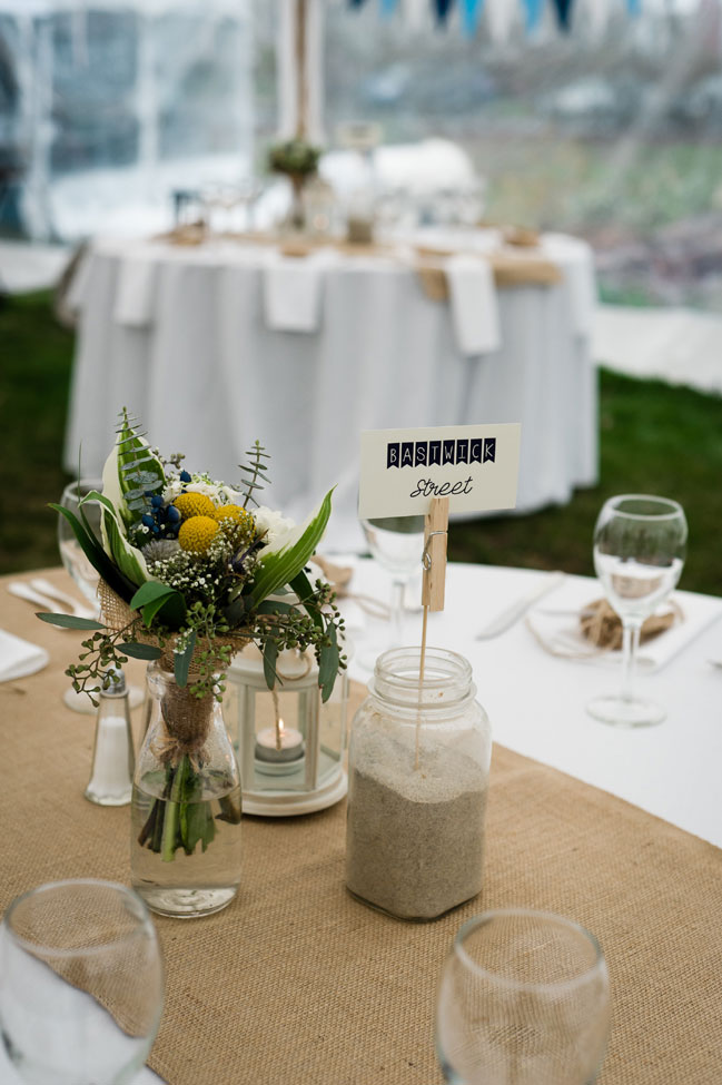 Classic New London Connecticut Wedding With Spring Rains In Navy & Yellow | Photograph by Robyn Blasi Photography  https://storyboardwedding.com/classic-new-london-connecticut-wedding/
