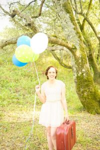 Sunshine Soaked Vintage Picnic Engagement Session In The Woods