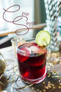 Specialty Cocktail Citrus Sangria Recipe