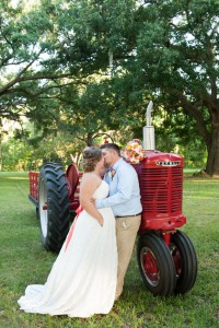 Brooksville Florida Hitching Post Barn Wedding In Coral & Blue Hue...