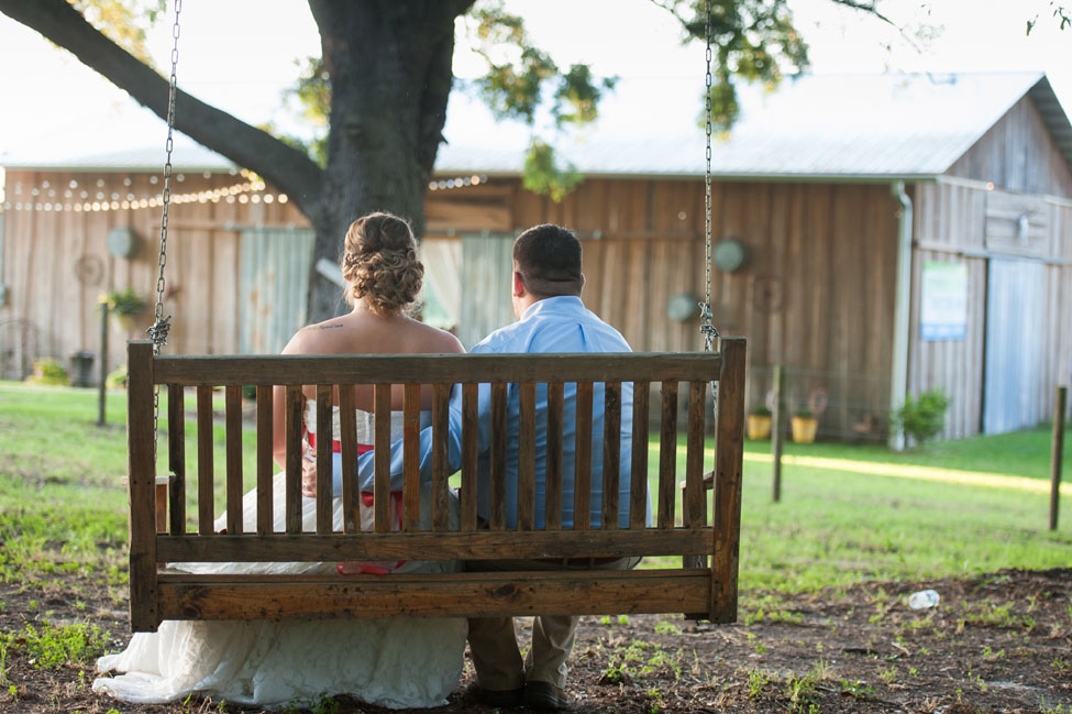 Brooksville Florida Hitching Post Barn Wedding In Coral & Blue Hues   Photograph by Sarah & Ben