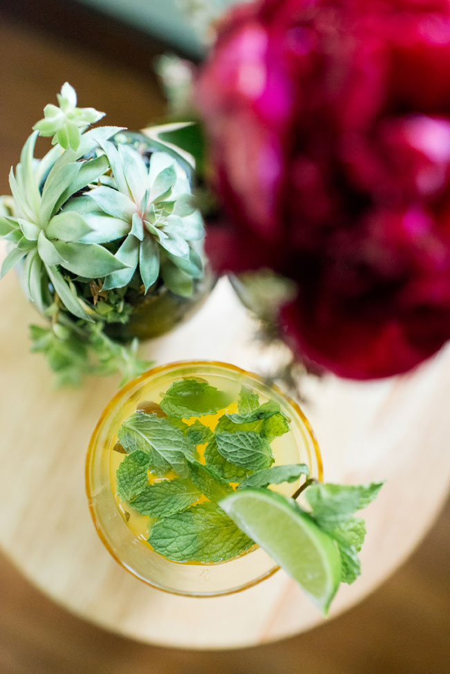 Pineapple Mojito Summer Cocktail Lauren W Photography 2