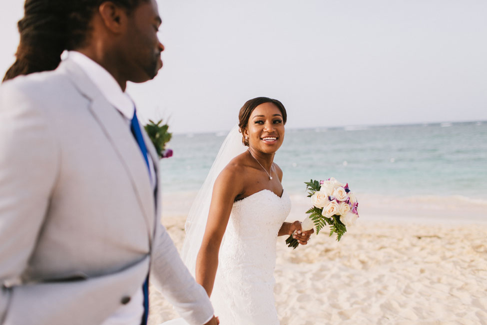 Punta Cana Dominican Republic Tropical Destination Beach Wedding | Photograph by Michael Rousseau Photography  https://storyboardwedding.com/punta-cana-dominican-republic-tropical-destination-beach-wedding/
