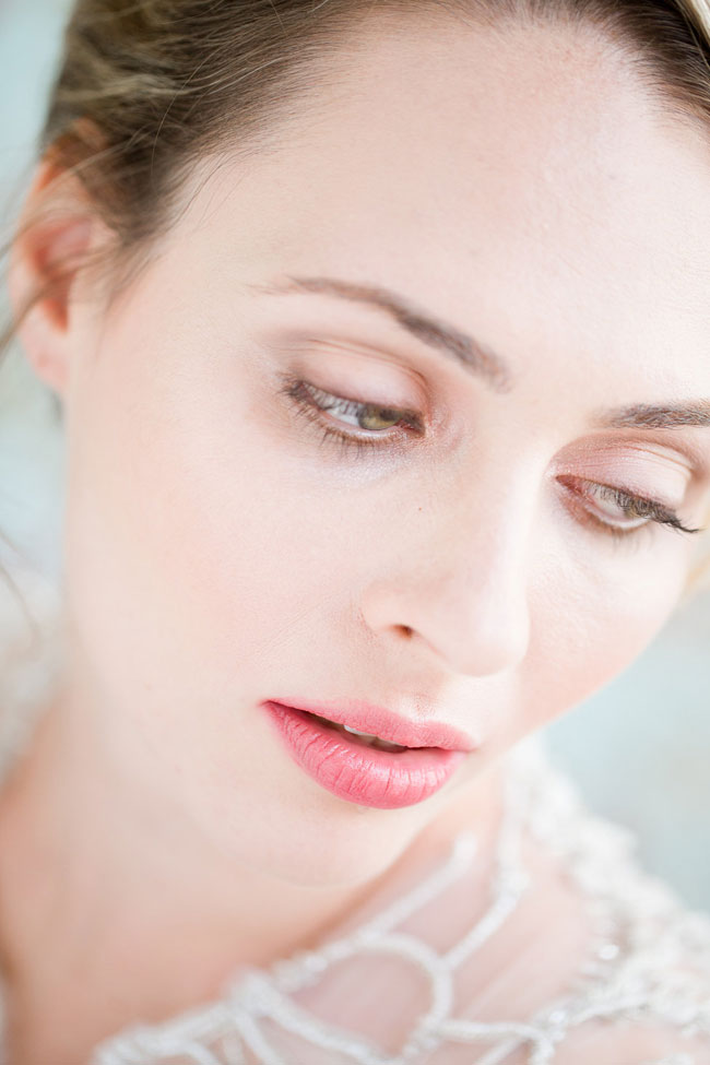 Berry Lip Bridal Makeup Beauty by Eden Di Bianco Melissa Kruse Photography Berry Stain Lip 1