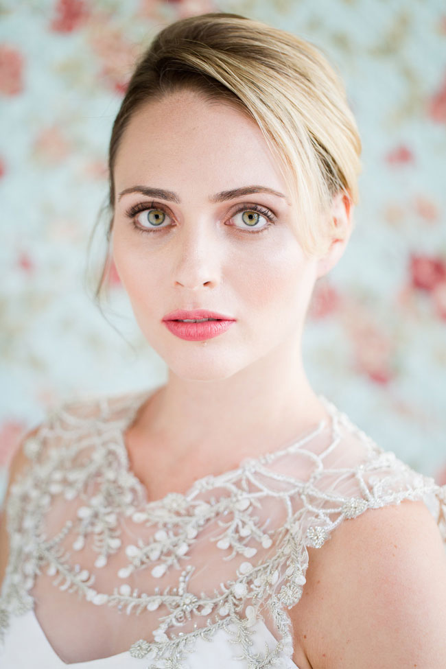 Berry Lip Bridal Makeup Beauty by Eden Di Bianco Melissa Kruse Photography Berry Stain Lip