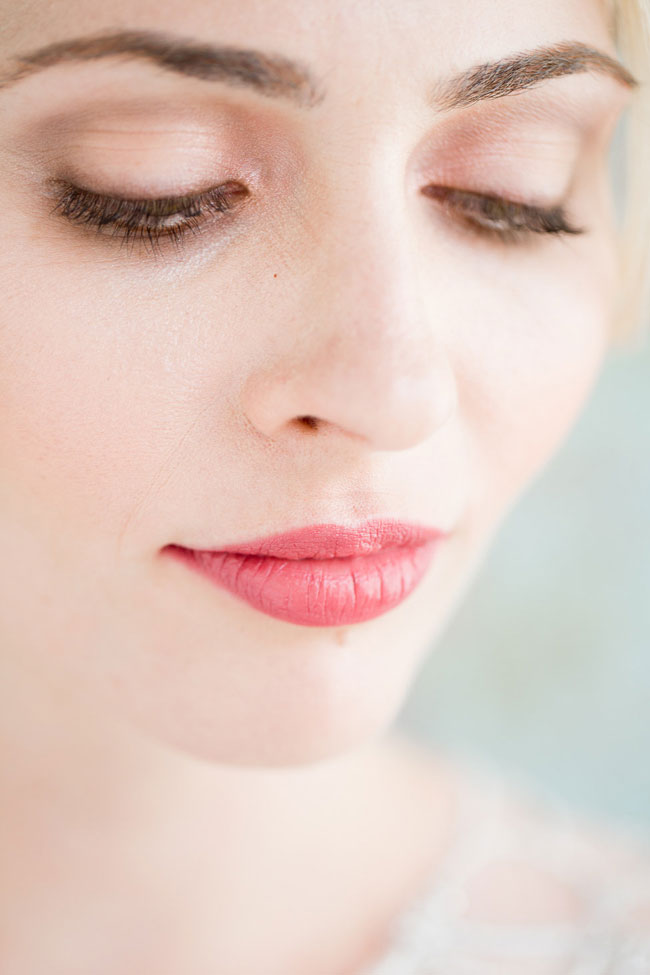 Berry Lip Bridal Makeup Beauty by Eden Di Bianco Melissa Kruse Photography Gloss Berry Lip 1