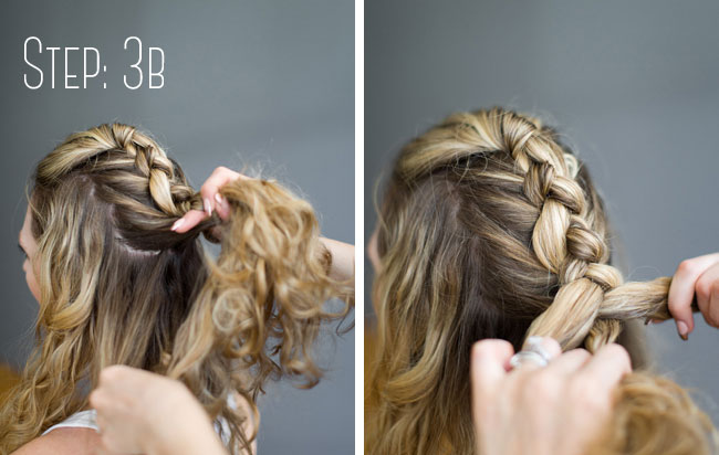 Chic With A Spicy Side Wedding Hair -The Bridal Faux Hawk Tutorial