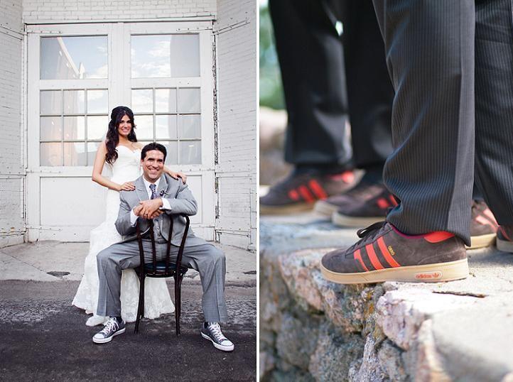 Colorful Groom Trends Color Socks Adidas Groomsmen Shoes