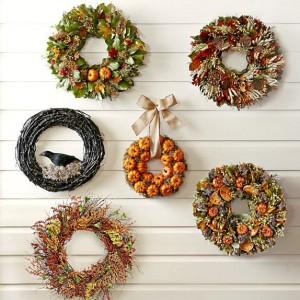 Fall Harvest Wreaths