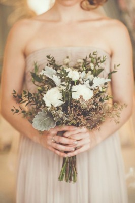 Fall harvest wedding bouquet