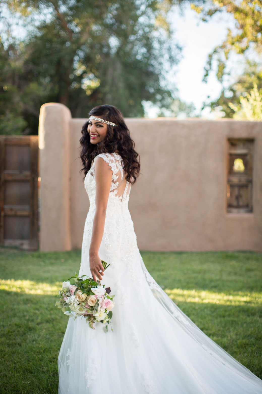Vineyards & Diamonds 2 Gorgeous Illusion Back Wedding Dress Looks | Photograph by Alicia Lucia Photography  https://storyboardwedding.com/illusion-back-wedding-dress-looks/