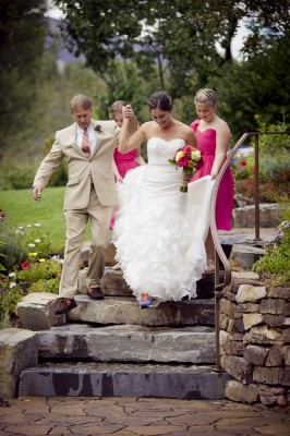 Rustic Neon Vineyard Inspired Sun Valley Idaho Wedding | Photograph by Dev Khalsa Photography