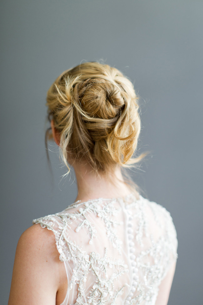 Securing Loose Textured Hairstyles Wedding Hair Beauty by Eden Di Bianco Melissa Kruse Photography (1)