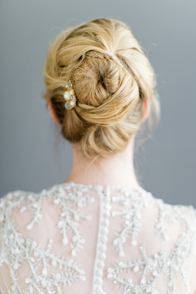 Securing Loose Textured Hairstyles Wedding Hair Beauty by Eden Di Bianco Melissa Kruse Photography (15)