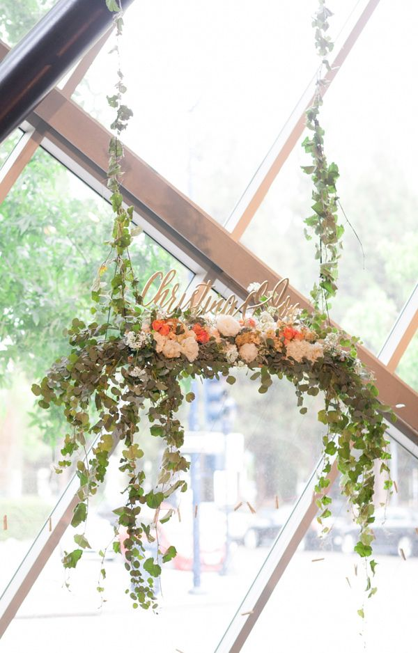 Why It Works Wednesday: Suspended Centerpieces & Hanging Decor