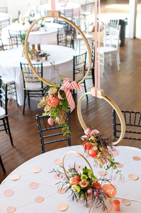 Suspended Centerpieces The Not Wedding Atlanta Rustic White Photography Ruffled
