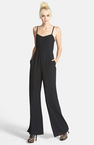 Tildon V-Neck Jumpsuit