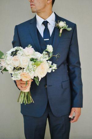 Traditional Suit Groom Detail Top Groom Trends