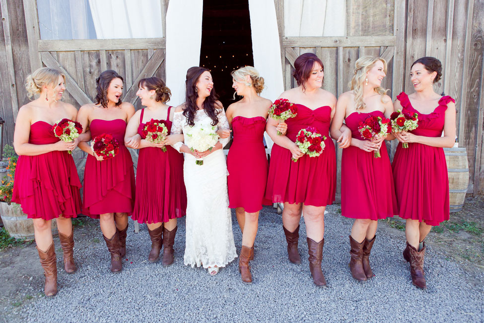Rustic Fall Wedding In Burgundy Hues At Olympia Valley Estate California | Photograph by Heather Scharf Photography  http://storyboardwedding.com/rustic-fall-wedding-olympia-valley-estate-california/