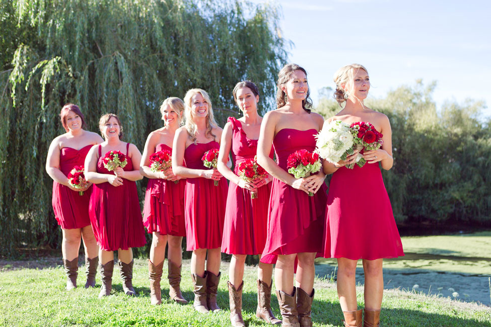 Rustic Fall Wedding In Burgundy Hues At Olympia Valley Estate California | Photograph by Heather Scharf Photography  https://storyboardwedding.com/rustic-fall-wedding-olympia-valley-estate-california/