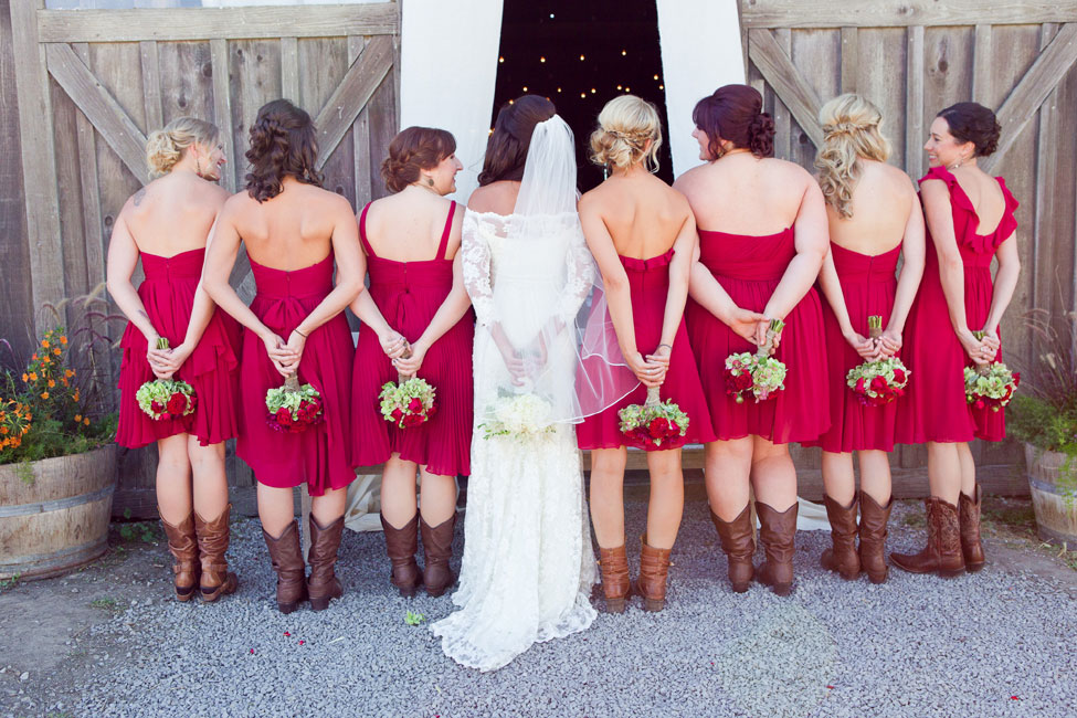 Rustic Fall Wedding Olympia Valley Estate California