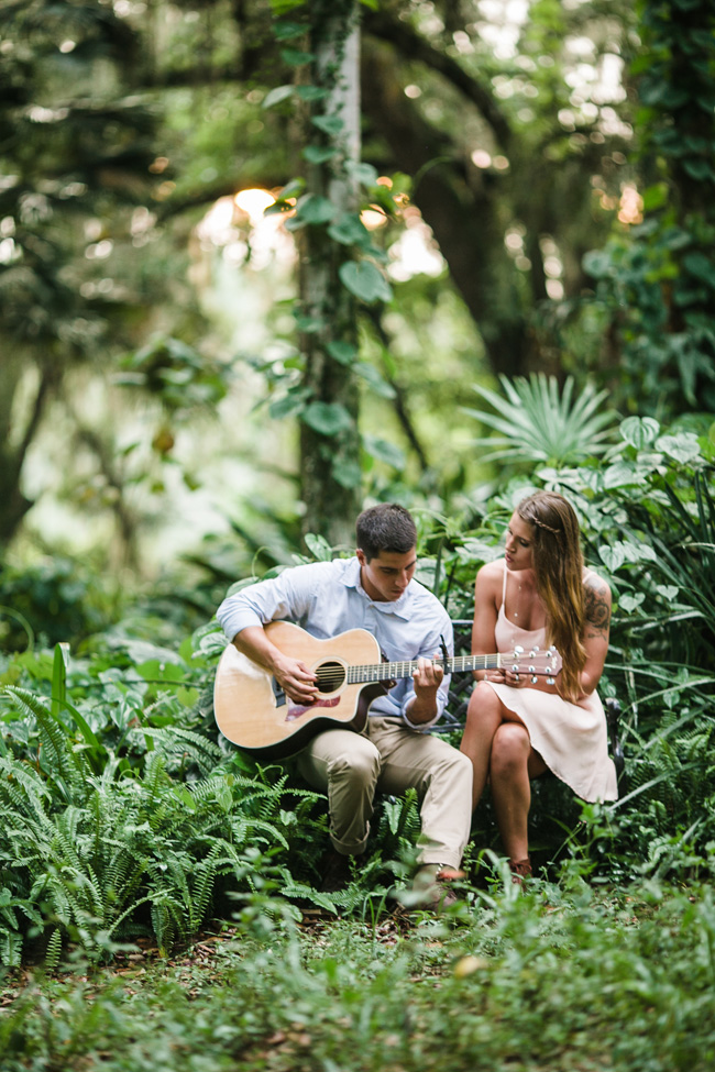 Secret Hideaway Engagement Session Filled With Goodies & Vintage Details | Photograph by Christina Maldonado Photography & Styling by Anna Jane Styling  https://storyboardwedding.com/secret-hideaway-engagement-session-vintage-details/