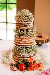 Homespun Wedding With DIY Details Set In A Paper Flower Arboretum