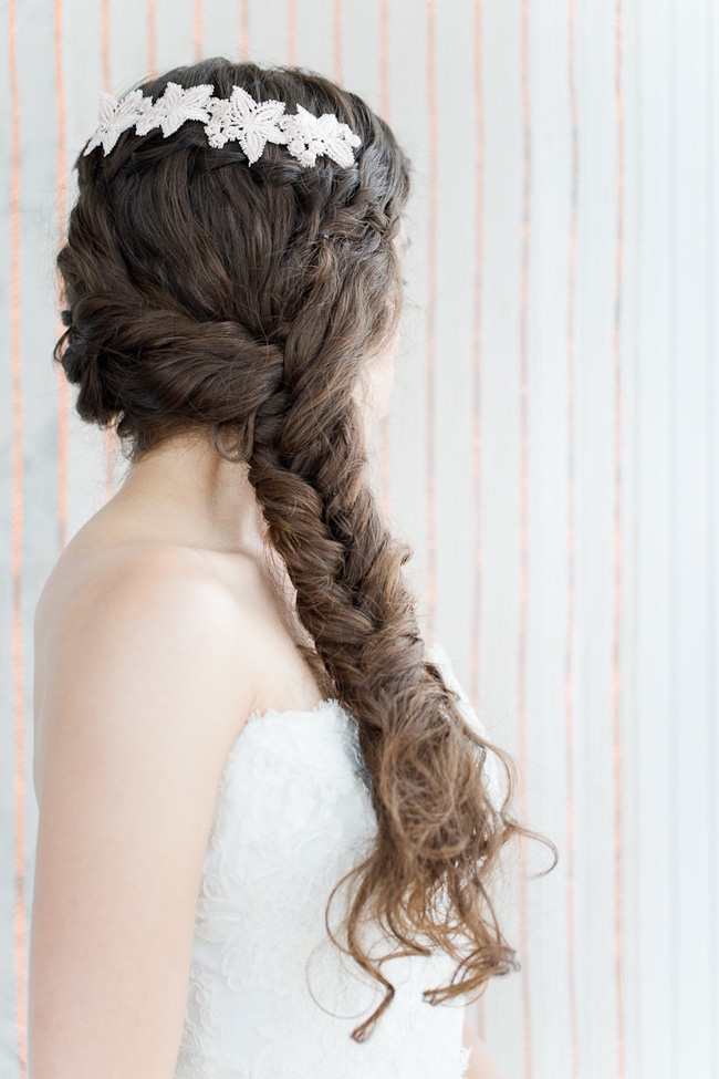 3 Unique Wedding Hair Looks With Lace | Hair + Makeup by Eden Di Bianco | Photography by Melissa Kruse Photography  https://storyboardwedding.com/wedding-hair-lace/