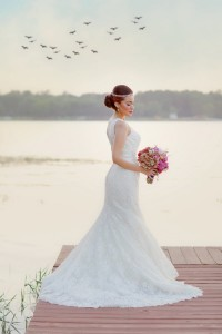 Early Fall Texas Wedding Bridals Set At Lake Tyler Petroleum Club