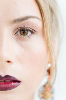 Ombre Lip Bridal Makeup Beauty by Eden Di Bianco Melissa Kruse Photography (14)