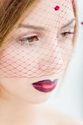 Ombre Lip Bridal Makeup Beauty by Eden Di Bianco Melissa Kruse Photography (17)