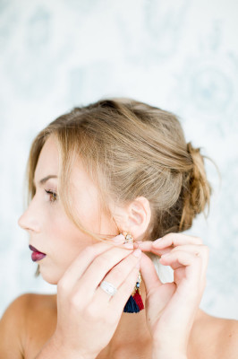 Ombre Lip Bridal Makeup Beauty by Eden Di Bianco Melissa Kruse Photography (2)