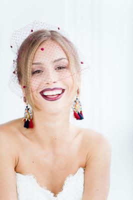 Ombre Lip Bridal Makeup Beauty by Eden Di Bianco Melissa Kruse Photography (20)
