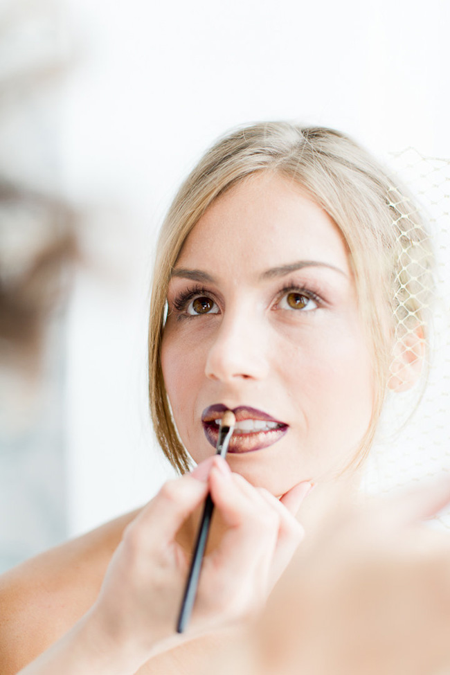 Ombre Lip Bridal Makeup Beauty by Eden Di Bianco Melissa Kruse Photography (23)