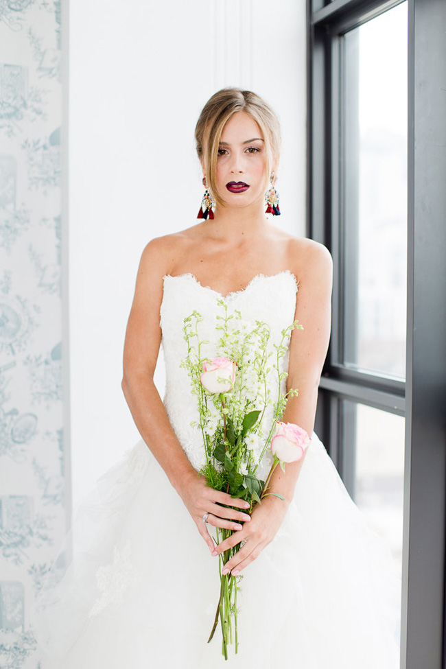 Ombre Lip Bridal Makeup Beauty by Eden Di Bianco Melissa Kruse Photography (4)